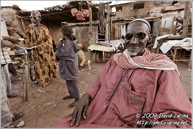 Eldery Man In Kedougou - Senegambia, Senegal
