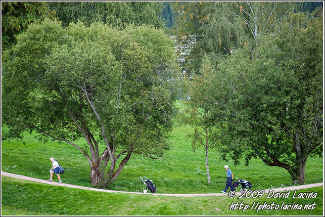 Playing Golf At Bogstad - Best Of 2009, Norway