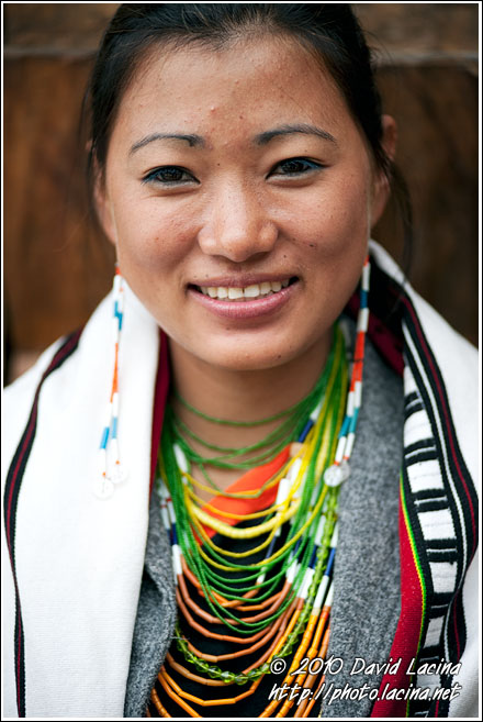 Chakhesang Woman - Nagaland, India
