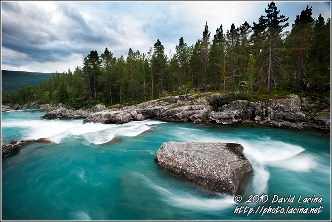 Glacial River - Land Of Fjords, Norway