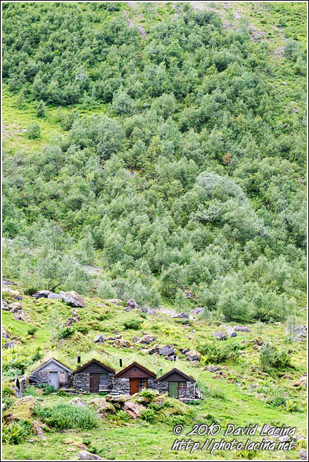 Huts On Mountains - Land Of Fjords, Norway