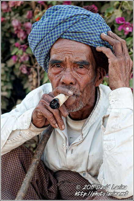 Smoking Cheroot - Best Of, Myanmar (Burma)