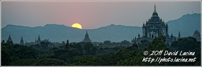 Sunset In Bagan - Bagan, Myanmar (Burma)