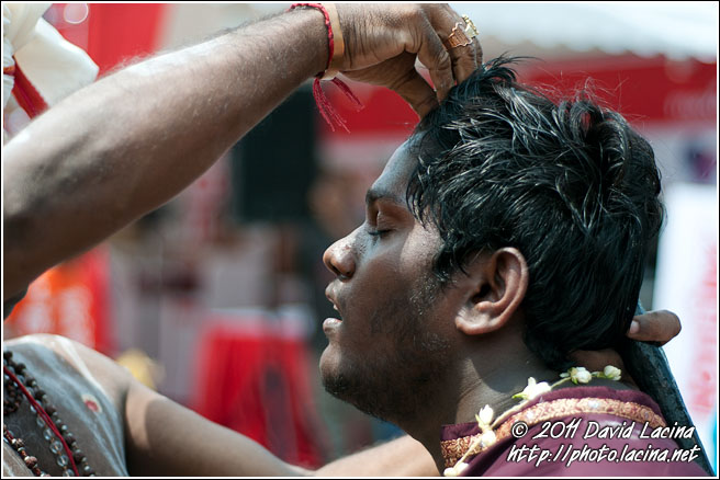 Waking Up From Trance - Thaipusam, Malaysia