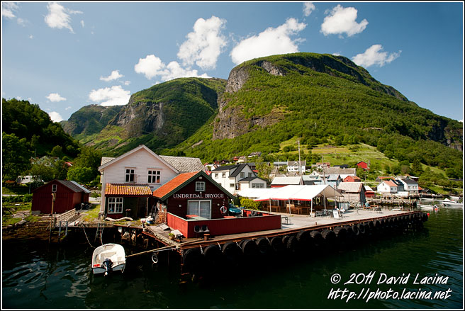 Udredal Harbour - Nærøyfjord World Heritage Area, Norway