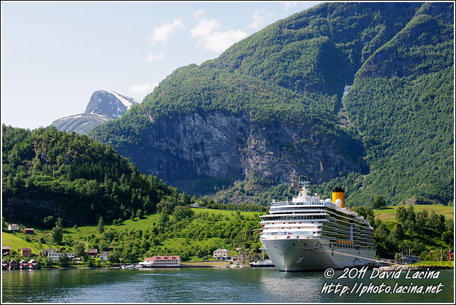 Costa Luminosa In Flåm - Nærøyfjord World Heritage Area, Norway