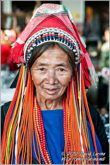 Hani  Woman - Xishuangbanna, China