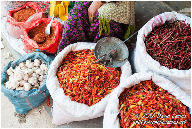 Chili Seller - Xishuangbanna, China