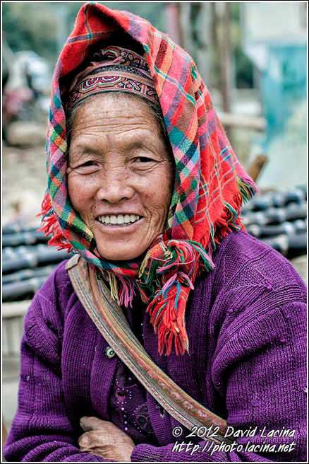 Miao Woman - Tribal Local Market, China