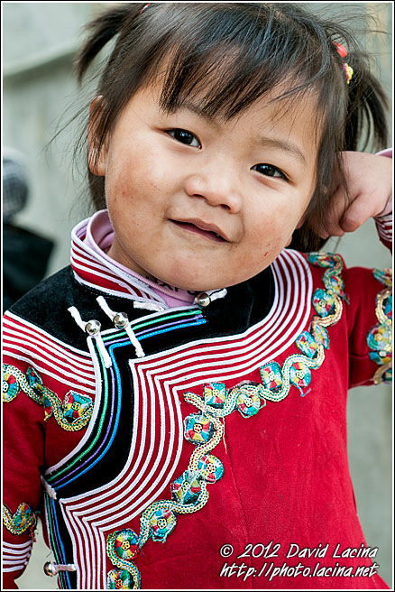 Hani Girl - Yuanyang, China