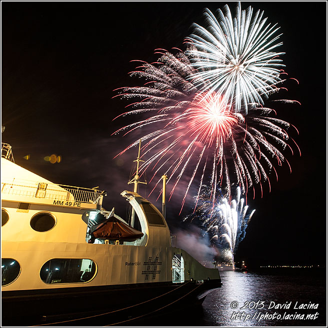 Fireworks In Oslofjord - Best Of 2012, Norway