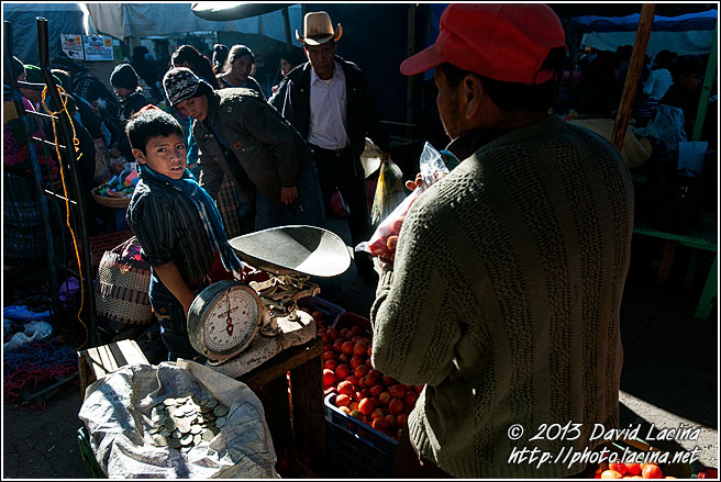 Boy At Maya Market - Best Of, Guatemala