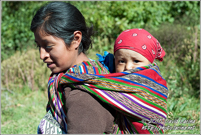 Maya Mother And Kid - Best Of, Guatemala