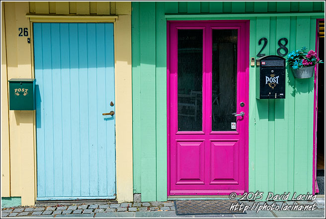 Travel Photo Gallery Colourful Doors Best Of 2013 Norway