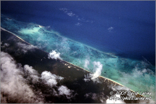 Island From Plane - Best Of Curaçao, Curaçao