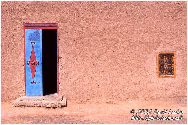 Front Of Nomad House - Best Of Marocco, Marocco