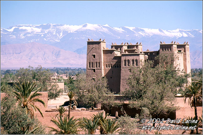 Kasbah Amerhidil And Snow, Skoura - Best Of Marocco, Marocco