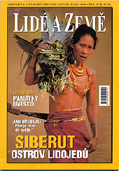 Lide a Zeme geographic magazine published a photo gallery from Siberut, Indonesia. One of the photos were choosen to the cover.