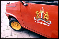 Car On Amsterdam Street, Best Of Netherlands, Netherlands