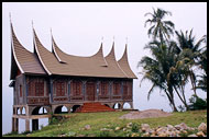Minang House, Lake Maninjau, Indonesia