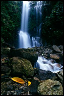 Waterfall, Lake Maninjau, Indonesia