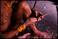 Making Arrows, Siberut island, Indonesia