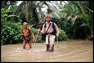 Trekking On Siberut, Siberut island, Indonesia