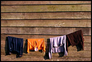 Clothes Abstraction, Kerinci, Indonesia