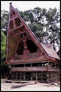 Batak House, Lake Toba, Indonesia
