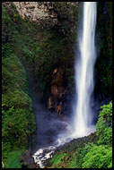 Sipiso-piso Waterfall, Lake Toba, Indonesia