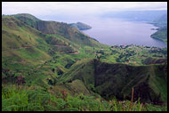 West Part Of Lake Toba, Lake Toba, Indonesia