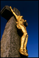 Crucified - By Radhost Chapel, Moravia Historical, Czech republic
