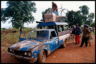 Tro Tro - Local BUS, Lobi tribe, Ghana