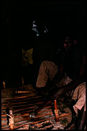 Playing Xylophone, Lobi tribe, Ghana