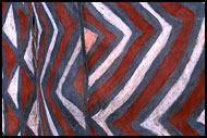 Painting Abstraction, Kassena tribe, Ghana