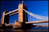 Tower Bridge, Historical London, England