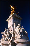 Queen Victoria Monument, Historical London, England