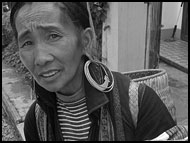Tribal Woman, Vietnam in B&W, Vietnam
