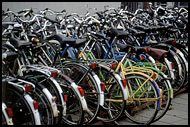 Bikes In Leiden, Best Of Netherlands, Netherlands