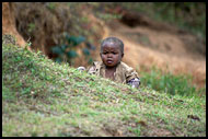 Hide And Seek, People Of Usambara Mountains, Tanzania