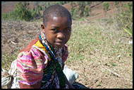 Resting Girl, People Of Usambara Mountains, Tanzania