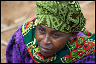 Usambara Woman, People Of Usambara Mountains, Tanzania