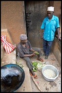 Preparing Dinner, People Of Usambara Mountains, Tanzania