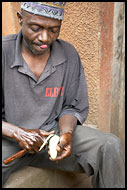 Concentrating On Work, People Of Usambara Mountains, Tanzania