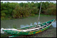 Boat By Lake Naivasha, Lake Naivasha, Kenya