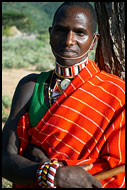 Samburu Warrior, Samburu Portraits, Kenya