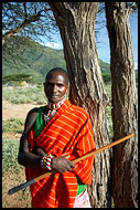 Protecting The Samburu Land, Samburu Portraits, Kenya
