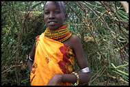 Turkana Girl, Turkana Tribe, Kenya