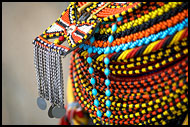 Beautiful Bead Necklace, Turkana Tribe, Kenya