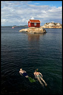 Swimming By Martaholmen, Best of 2005, Norway